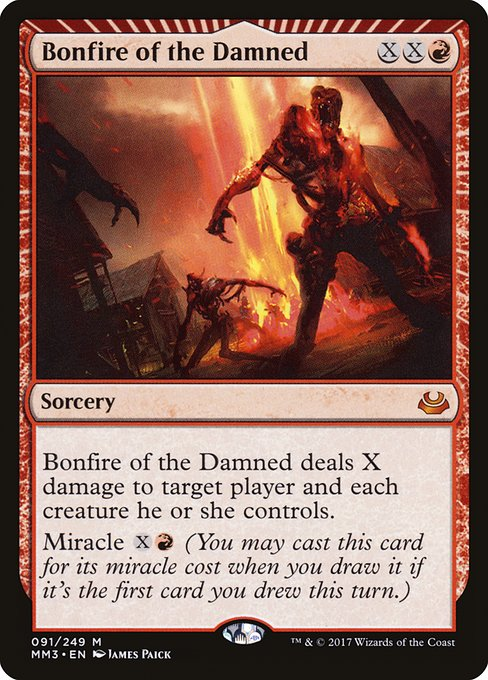Bonfire of the Damned (MM3)
