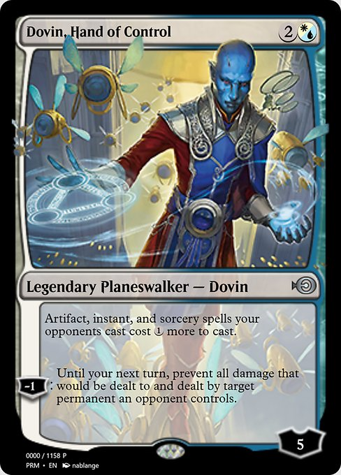 Dovin, Hand of Control (PRM)