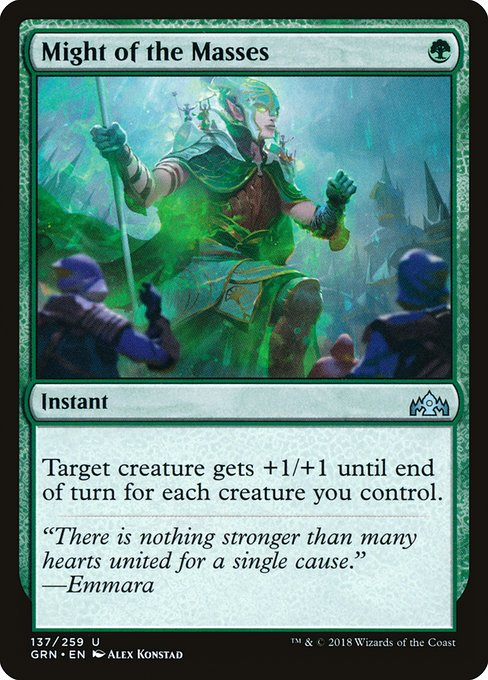 Might of the Masses (GRN)