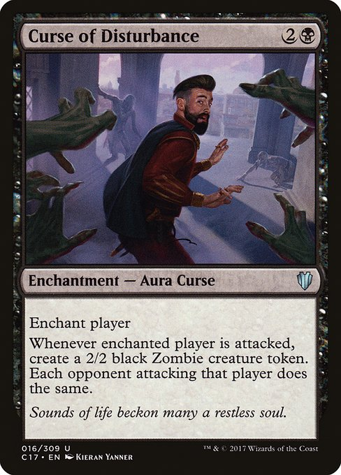 Curse of Disturbance (C17)