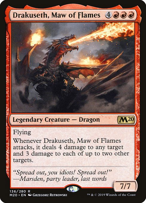 Drakuseth, Maw of Flames (M20)