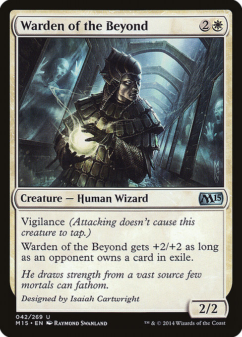 Warden of the Beyond (M15)
