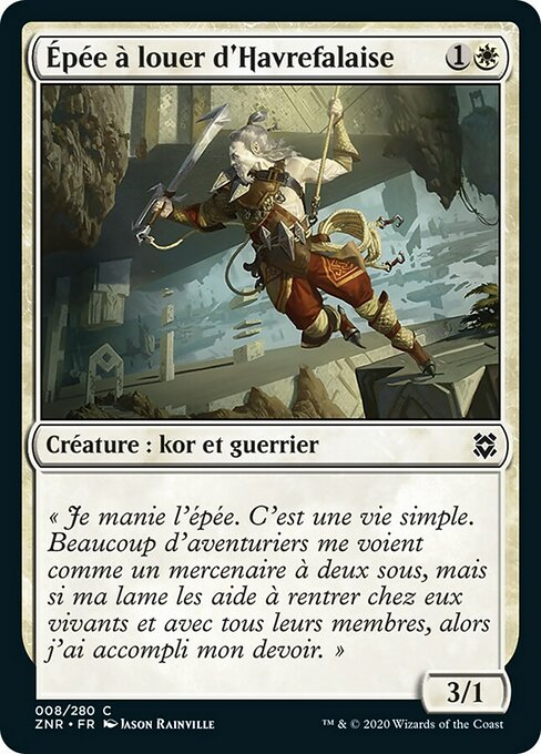 Cliffhaven Sell-Sword (ZNR)