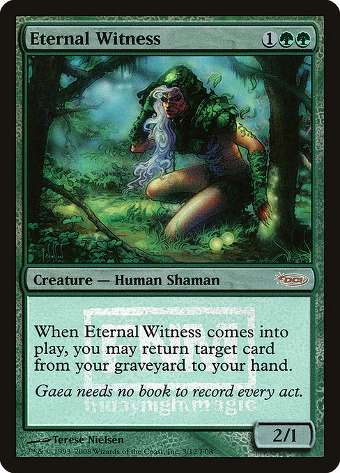 Eternal Witness (F08)
