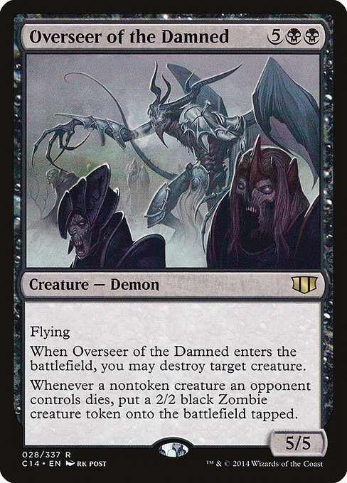 Overseer of the Damned (C14)