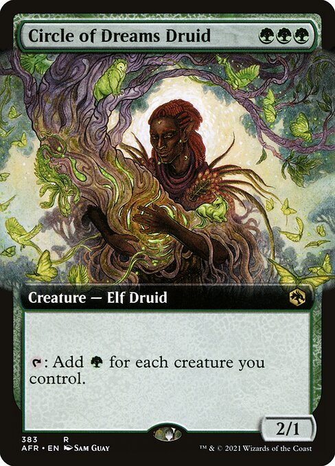 Circle of Dreams Druid (Extended Art)