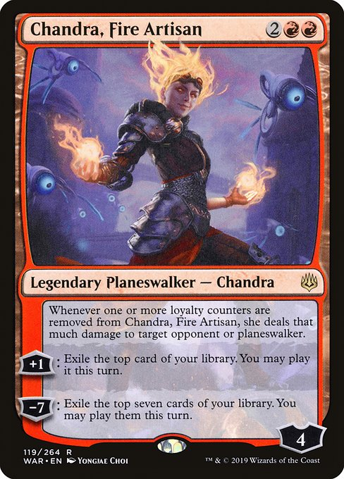Chandra, Fire Artisan (WAR)