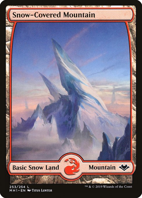 Snow-Covered Mountain (MH1)