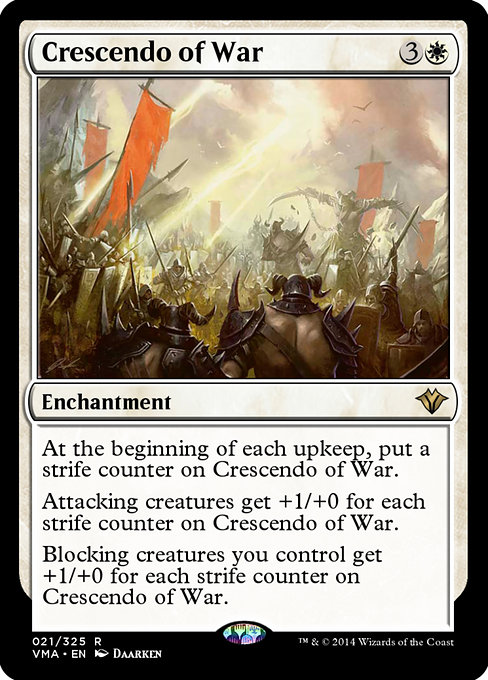 Crescendo of War (VMA)
