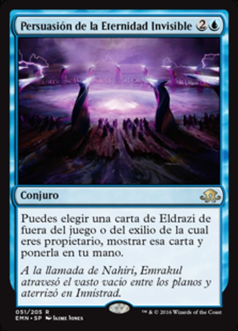 Coax from the Blind Eternities (EMN)