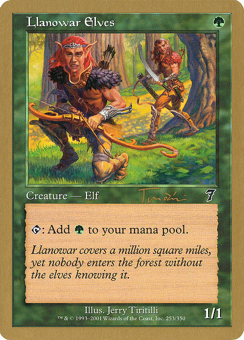 Llanowar Elves (WC01)