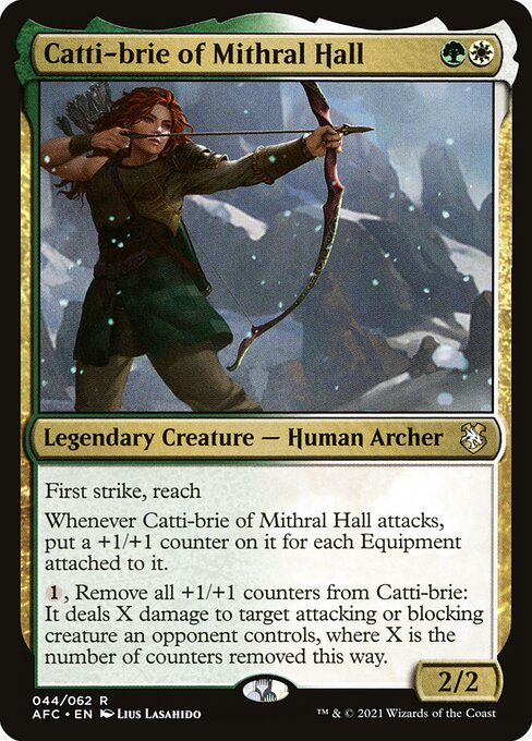 Catti-brie of Mithral Hall (AFC)