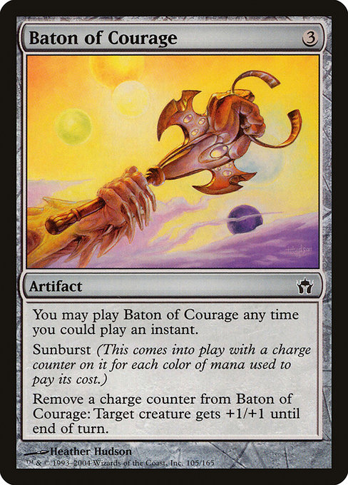 Baton of Courage (5DN)
