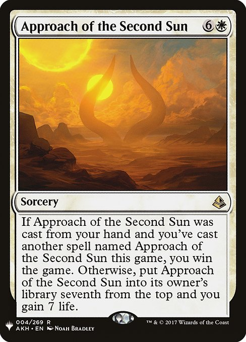 Approach of the Second Sun (MB1)