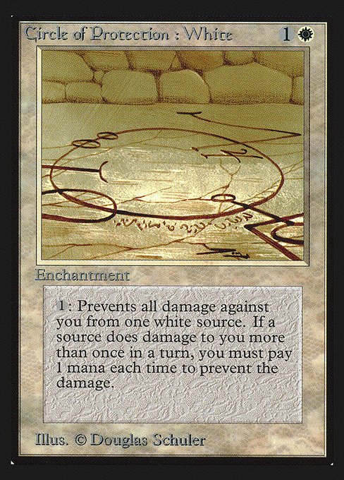 Circle of Protection: White (CED)