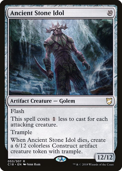 Ancient Stone Idol (C18)