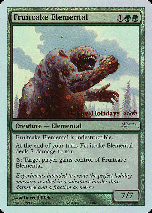 Fruitcake Elemental (HHO)