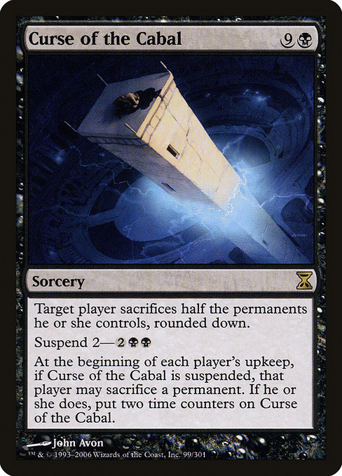 Curse of the Cabal (TSP)