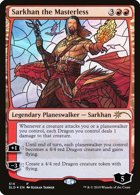 Sarkhan the Masterless (SLD)