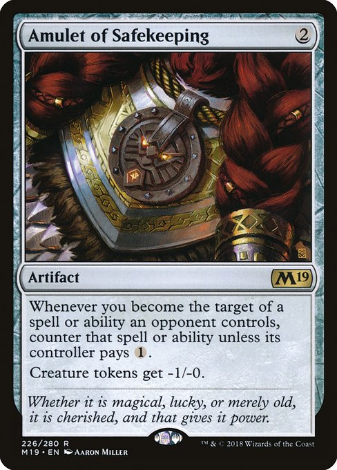 Amulet of Safekeeping (M19)
