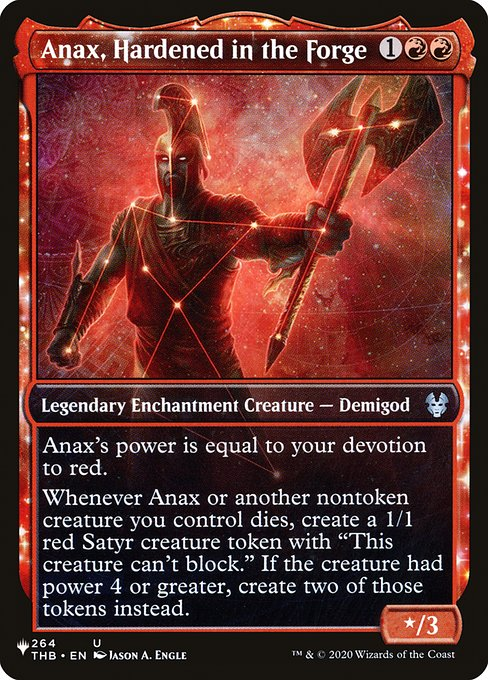 Anax, Hardened in the Forge (PLIST)