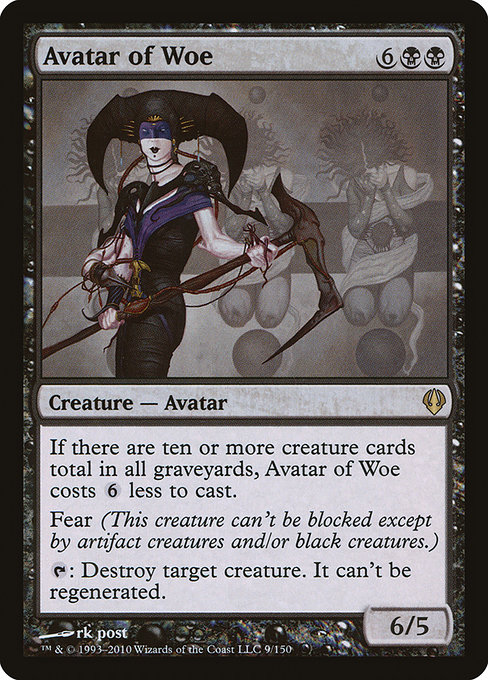 Avatar of Woe (ARC)