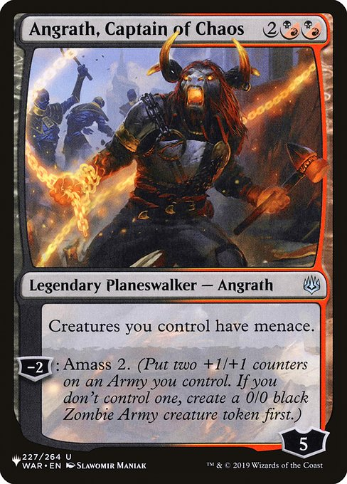Angrath, Captain of Chaos (PLIST)