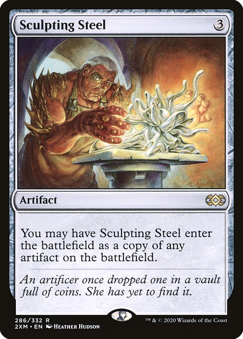 Sculpting Steel (2XM)