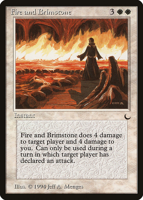 Fire and Brimstone (DRK)
