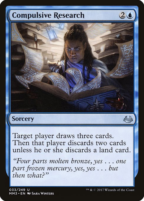 Compulsive Research (MM3)