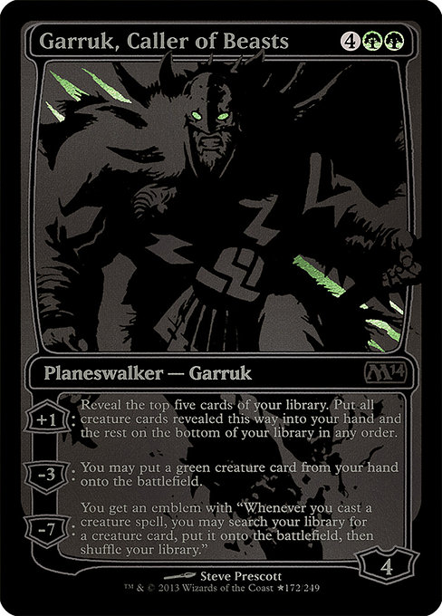 Garruk, Caller of Beasts (PSDC)