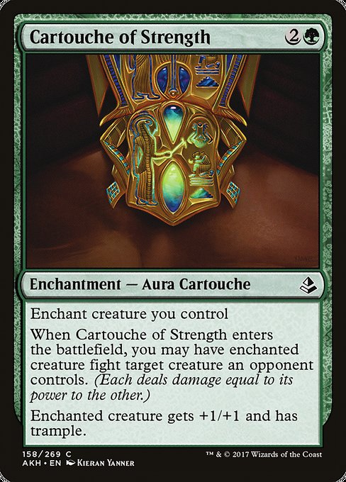Cartouche of Strength (AKH)