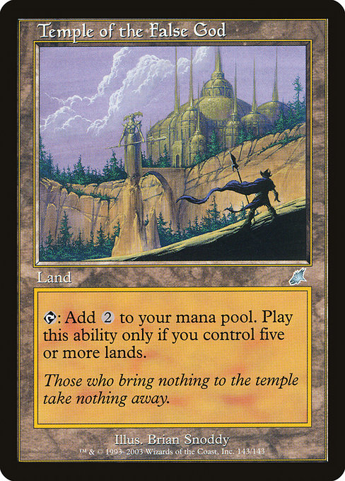 Temple of the False God (SCG)