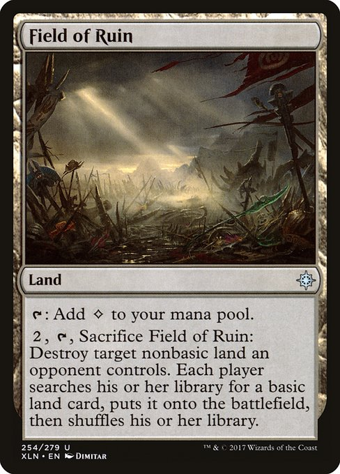 Field of Ruin - Magic: the Gathering