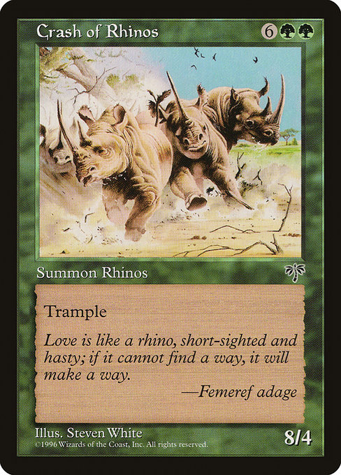 Crash of Rhinos (MIR)