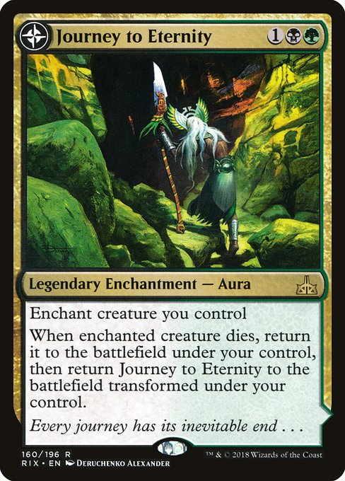 Journey to Eternity // Atzal, Cave of Eternity (RIX)
