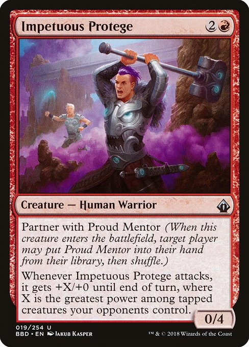 Impetuous Protege (BBD)