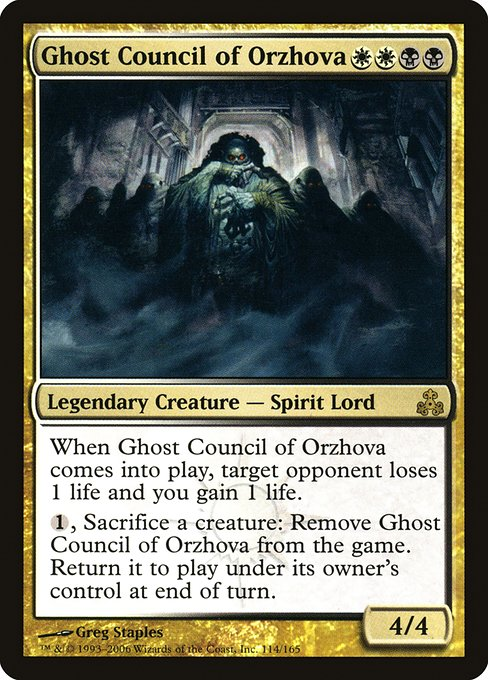 Ghost Council of Orzhova (GPT)