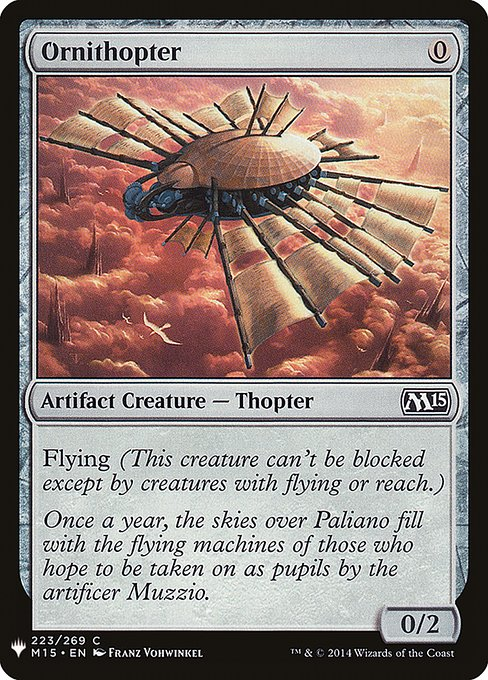 Ornithopter (MB1)