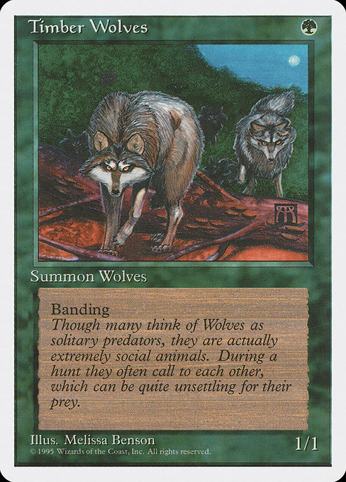 Timber Wolves (4ED)