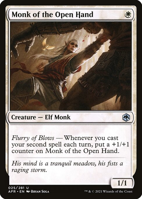 Monk of the Open Hand (AFR)