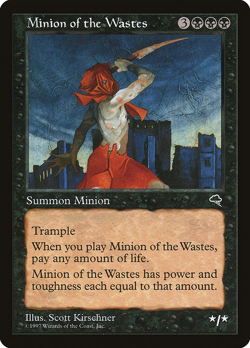 Minion of the Wastes (TMP)