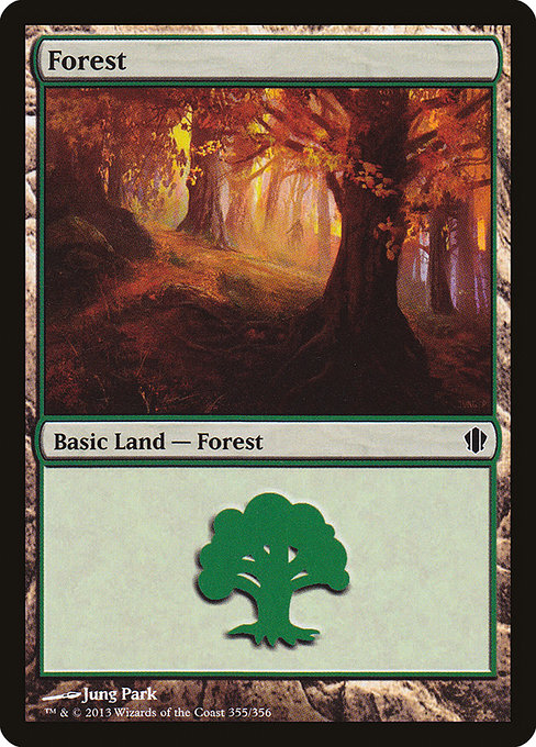 Forest - Commander 2013