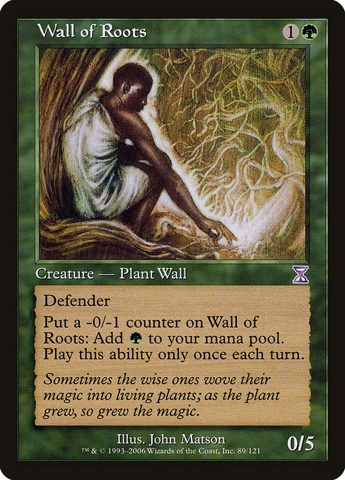 Wall of Roots (TSB)