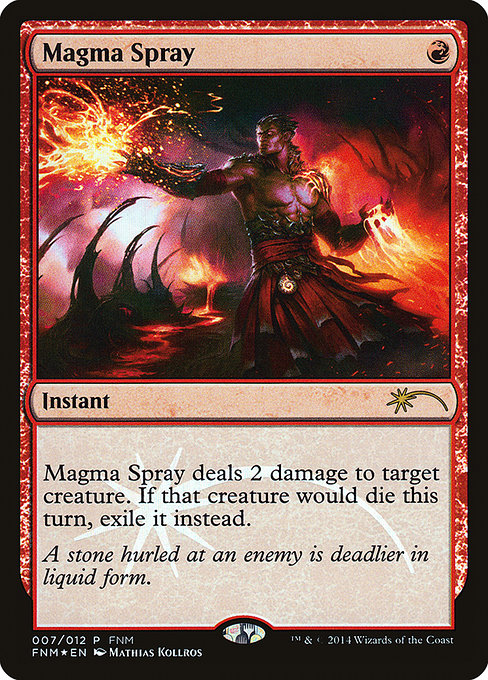 Magma Spray (F14)