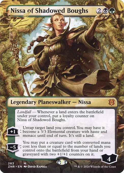 Nissa of Shadowed Boughs (ZNR)