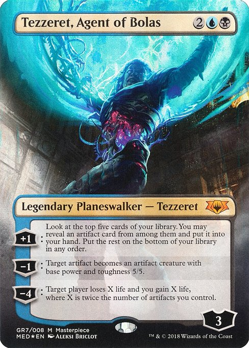 Tezzeret, Agent of Bolas (MED)
