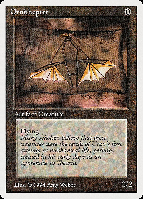 Ornithopter (SUM)