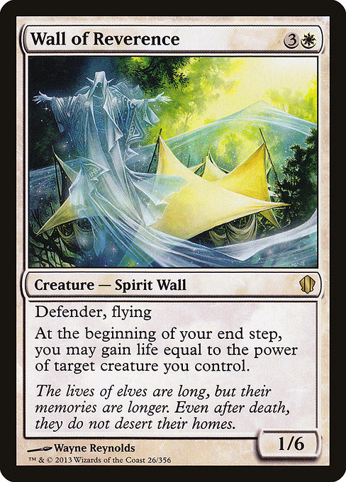 Wall of Reverence (C13)