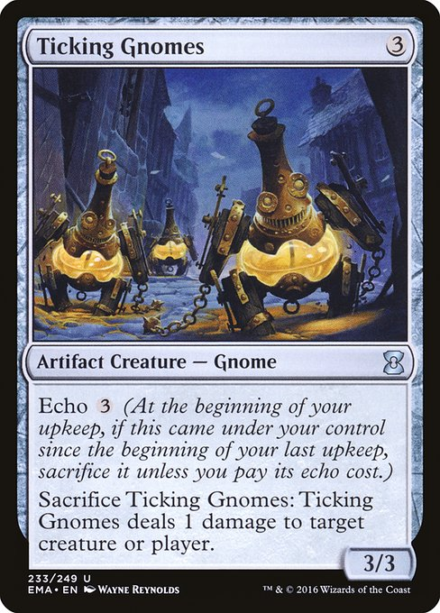 Ticking Gnomes (EMA)